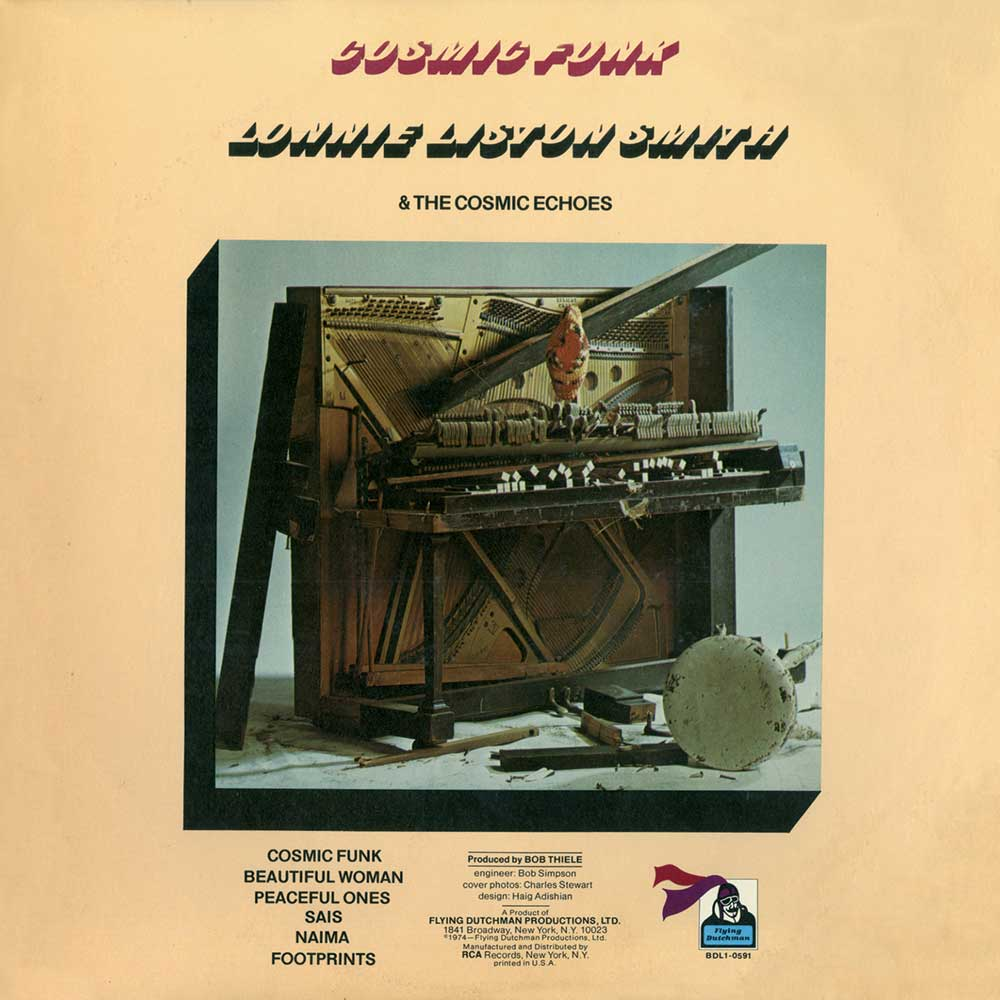 LONNIE LISTON SMITH AND THE COSMIC ECHOES-COSMIC FUNK  | dereksmusicblog