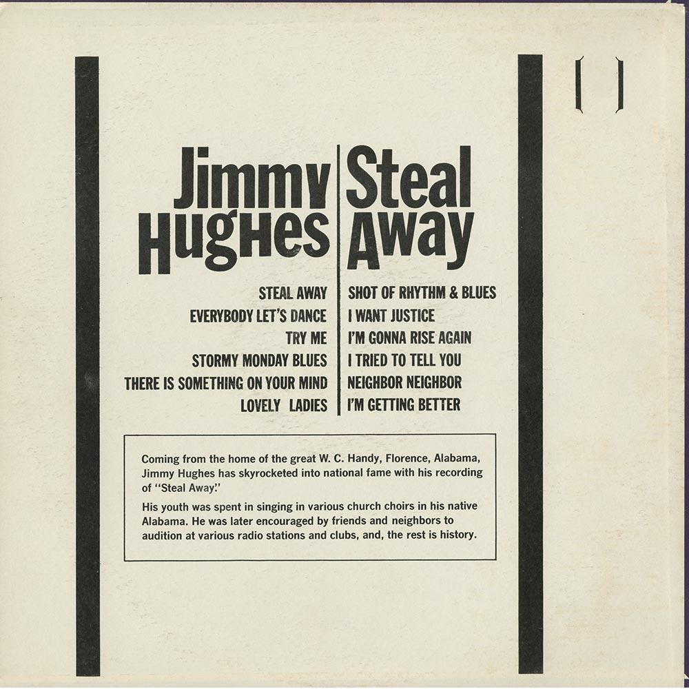 Jimmy Hughes Steal Away Dereksmusicblog