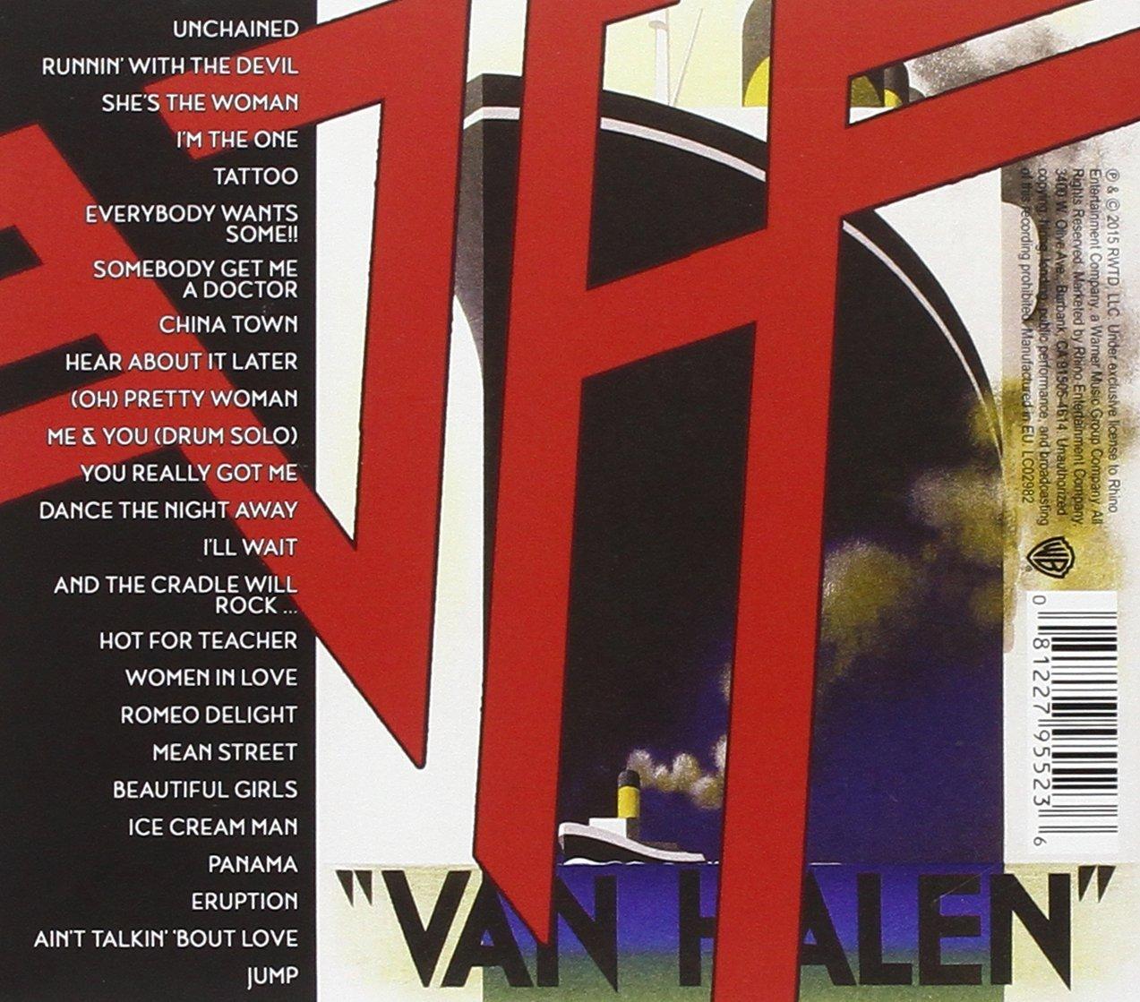 Van Halen Deluxe Vinyl Edition Dereksmusicblog