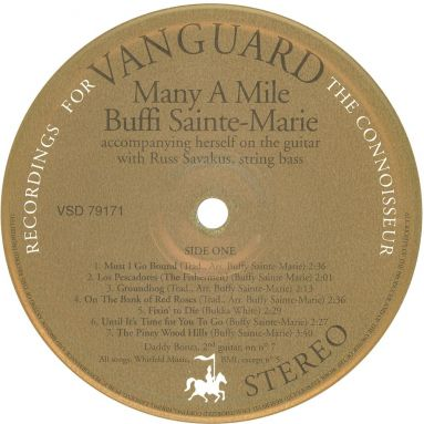 Buffy Sainte Marie Many A Mile