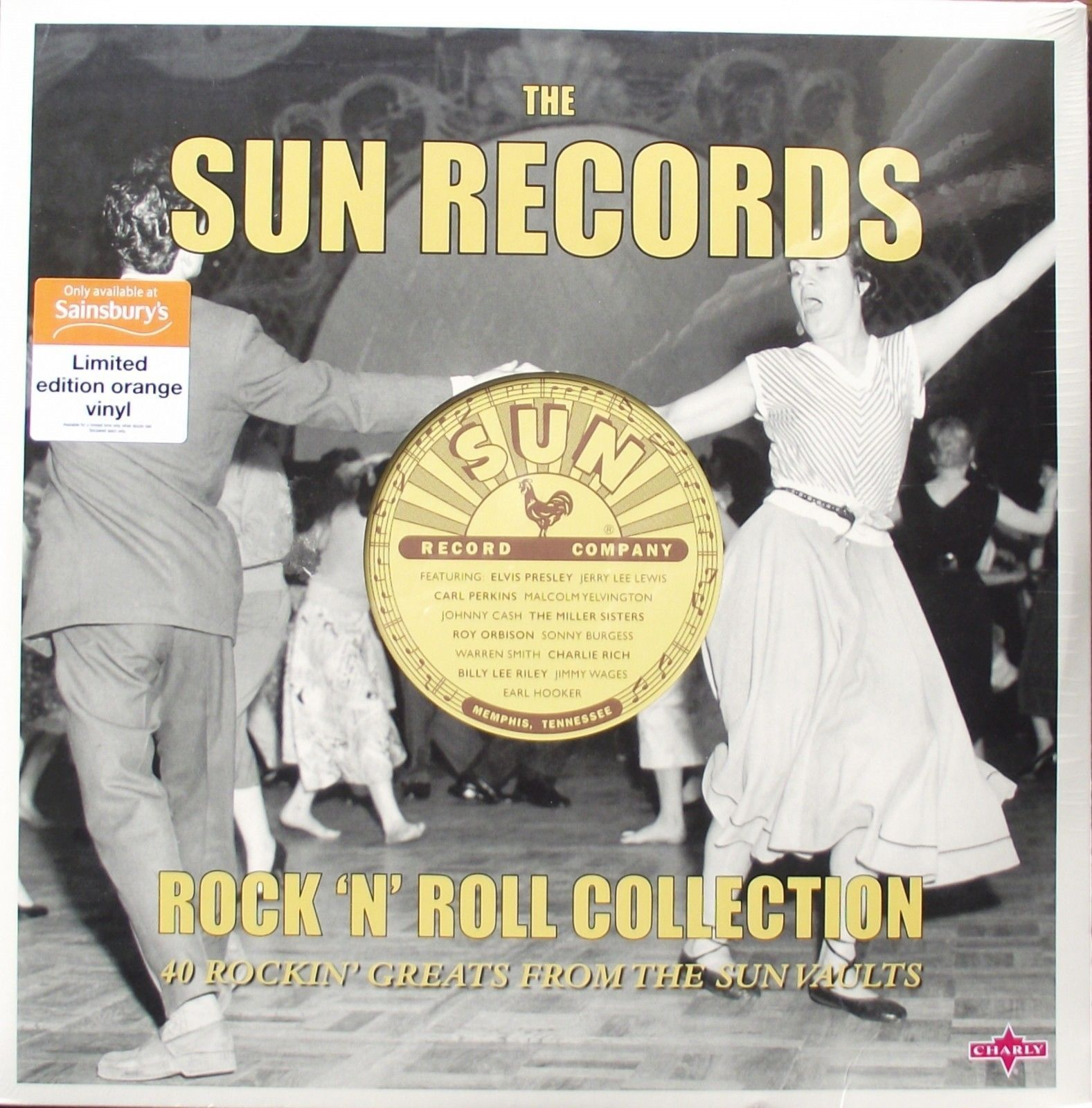 The Sun Records Rock N Collection 40 Rockin Greats From